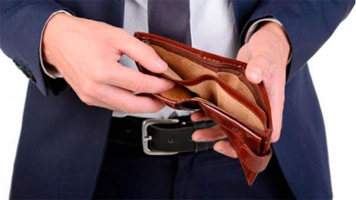 Пустой кошелек должника