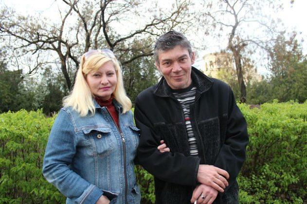 Валерий Бессарабский с женой Татьяной