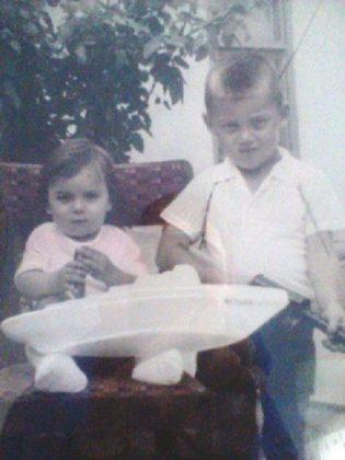 Валерий Бессарабский с братом Аликом