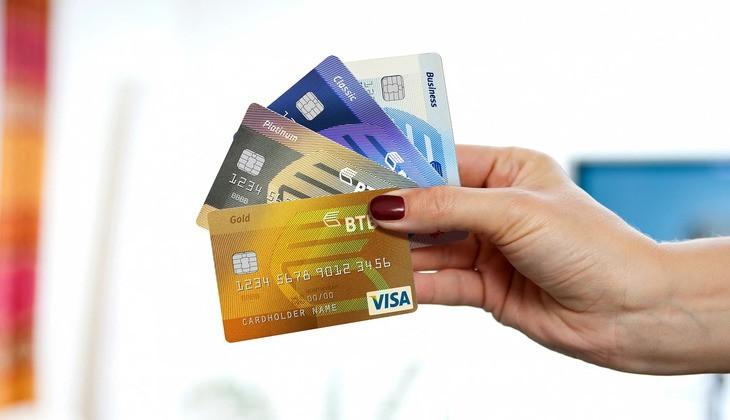 коллекция кредитных карт