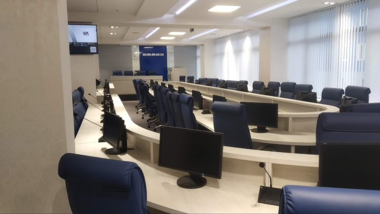 большие конференцзалы в москве